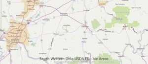 South Western Ohio USDA Eligible Areas
