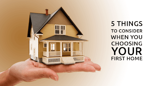5 things for first time homebuyers